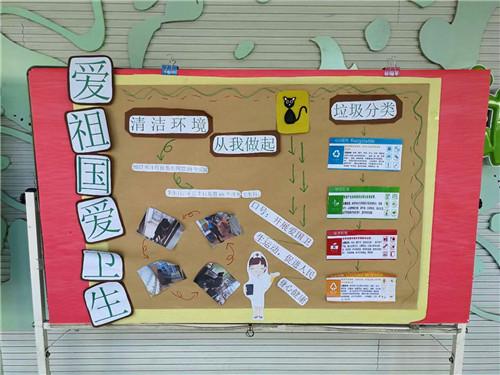 惠济区实验幼儿园开展爱国卫生月活动